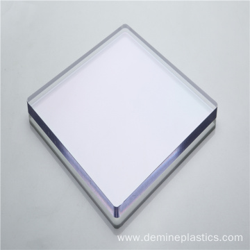 Fireproof plastic building decoration polycarbonate panel