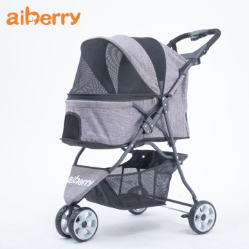 Aiberry Dog Travel Double Decks Stroller