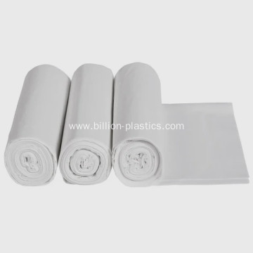 White Plastic Trash Can Liners