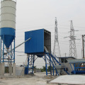 HZS25 mini stationary bucket-type concrete batching plant