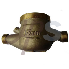 Brass Multi-jet water meter body