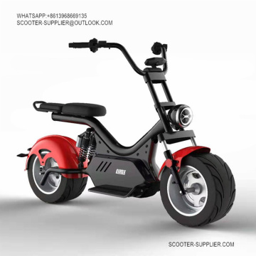 Eco Large City Electric Scooter Elektroroller Chopper