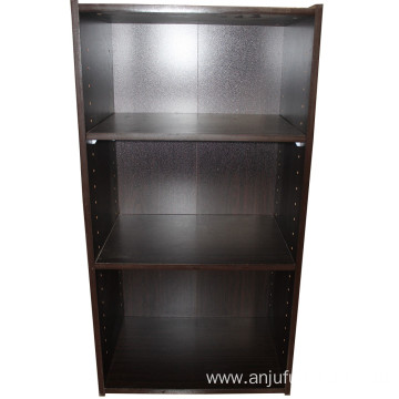 Custom logo office bookshelf wooden bookshelf