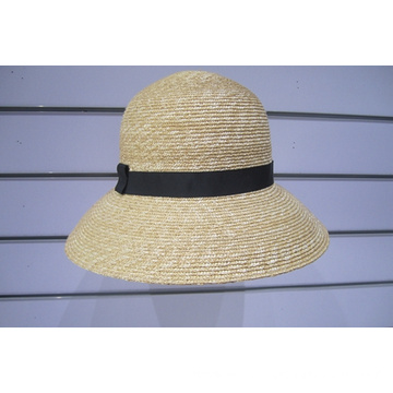 Wheat Braid Sun Hats--YJ33
