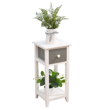 White gray Indoor 2/3/4 Tier Storage Rack flower Plant Display Stand