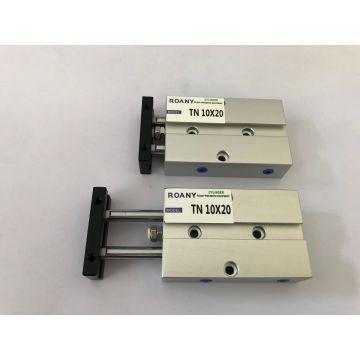 TN10x20 20mm Bore 20mm Stroke Double Rod Aluminum Alloy Pneumatic Air Cylinder TN10-20 TDA10-20