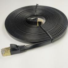 Flat Cat7 LAN Cable Patch Cord For Gaming