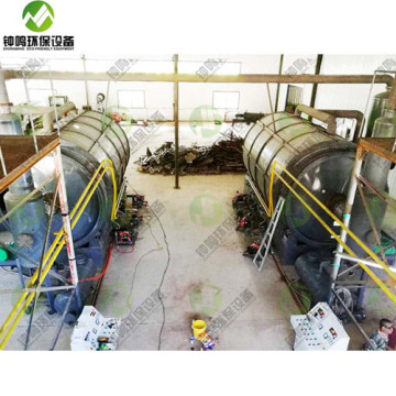 Mini Mobile Plastic Pyrolysis Machine Cost