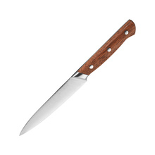 Wholesale Kitchen Wooden Handle Steel Utility Knife