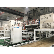 PROFESSIONAL HIGH QUALITY PVC FLOORING BOARD MACHINE LINE