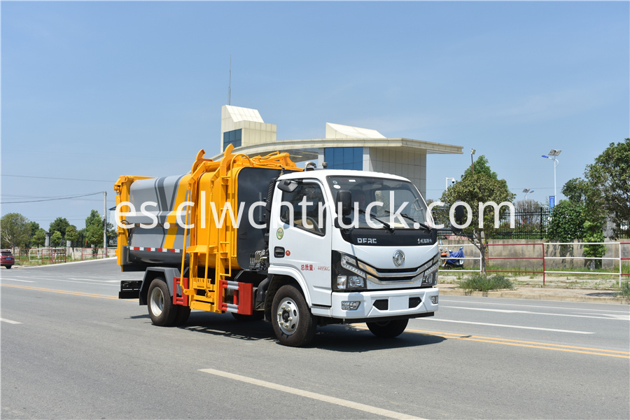 kitchen waste truck images