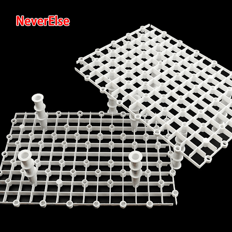 Aquarium Accessories Isolation Partition Board Fish Tank Bottom Filter Tray Grid Divider Holder Filter Accessories Cleaning Tool
