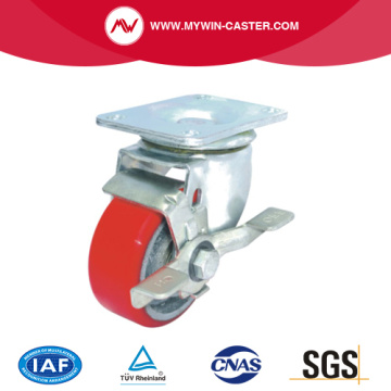Top Plate Side Brake Industrial Caster