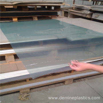 UV resistance protective polycarbonate clear film sheet