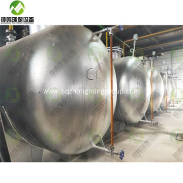 Tyre Pyrolysis Oil Fractional Distillation Plant