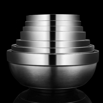 High quality stainless steel mixing bowl set