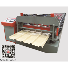 IBR-Trapezoid roof sheet roll forming machine
