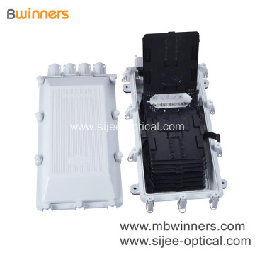Outdoor Wall Mount 48 Core FTTH Cable Fiber Optic Distribution Box