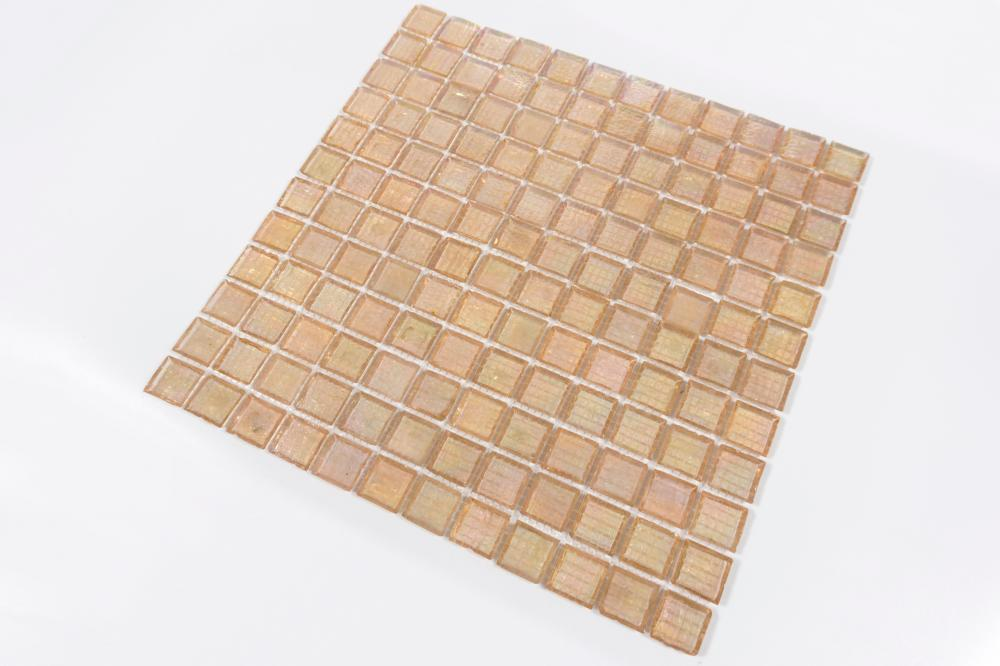 Pink Edes Chipping Honey Berry Glass Mosaic Nf411