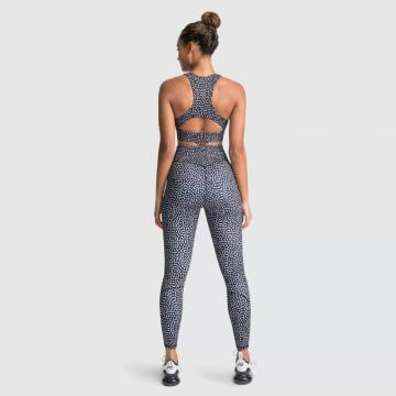 Sexy Dry Fit Bodybuilding Girls Yoga Set