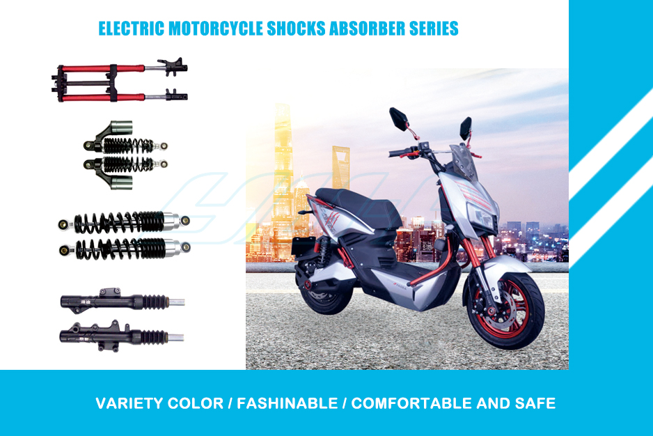 2 Electric Motorcycle Shocks-1