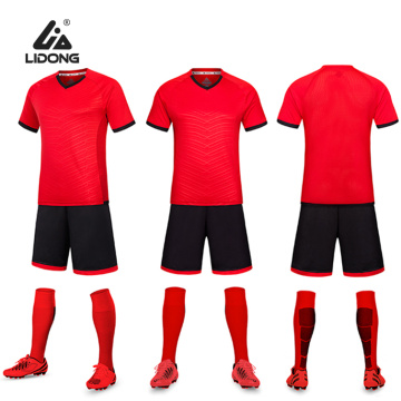 Football Team Performance Shirt & Shorts Set