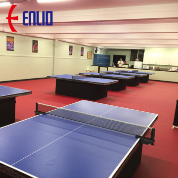 ITTF table tennis court floor