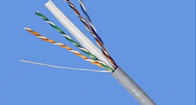 Oxygen-free copper non-shielded network cable