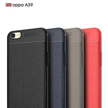 Leather Soft TPU Scratch Resistant for OPPO A39