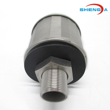 SS304 OD 53mm Water Filter Nozzle