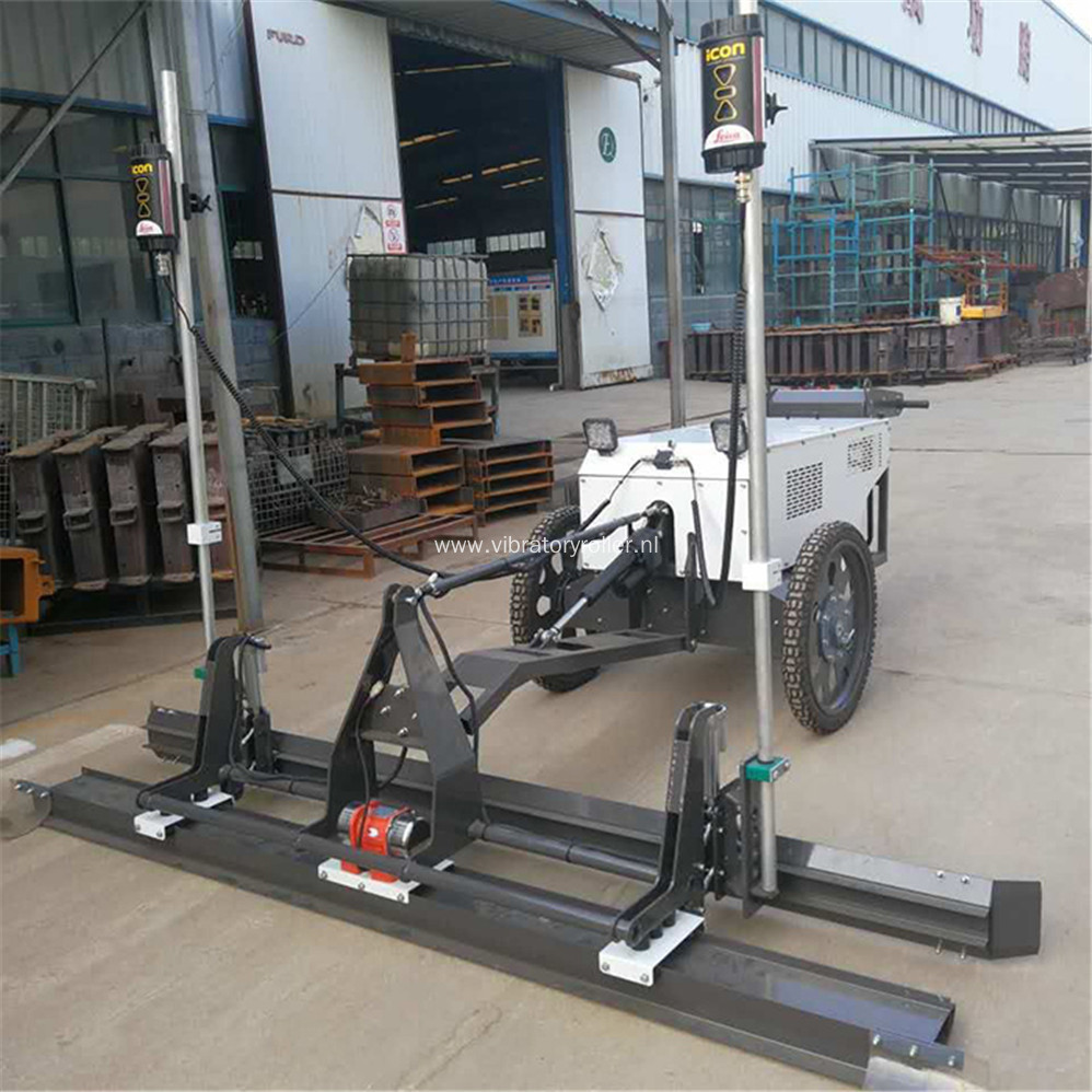 Walk Behind Concrete Laser Screed Machine