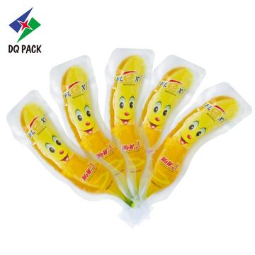 Flexible packaging bottle shape pouch