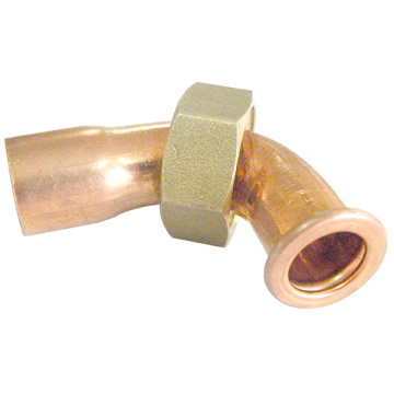 Copper Solder Ring Bent Tap Connector