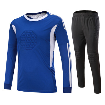 long sleeve soccer goalkeeper jersey