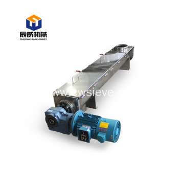 carbon steel heat resistant sand screw conveyor