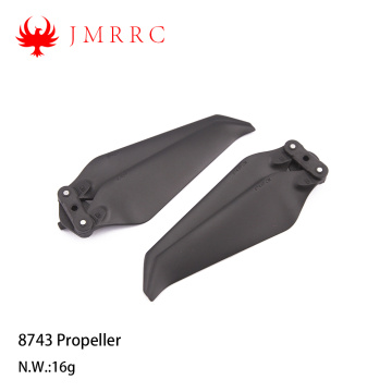 8743 8inches Low-Noise Props Foldable Propeller