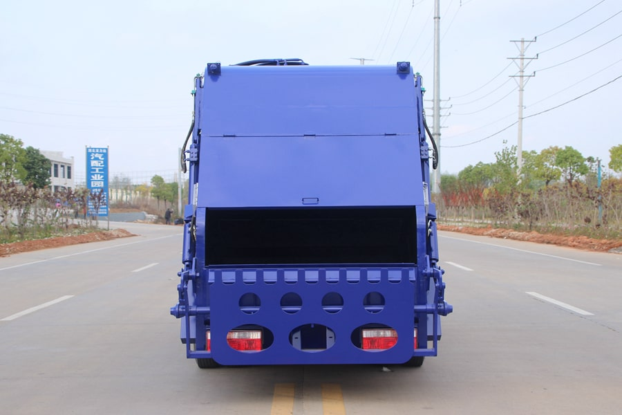 Press Pack Garbage Truck Manufacturer
