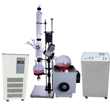 20L vacuum rotary evaporator with chiller