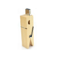 Clip de madera usb flash drive regalo creativo