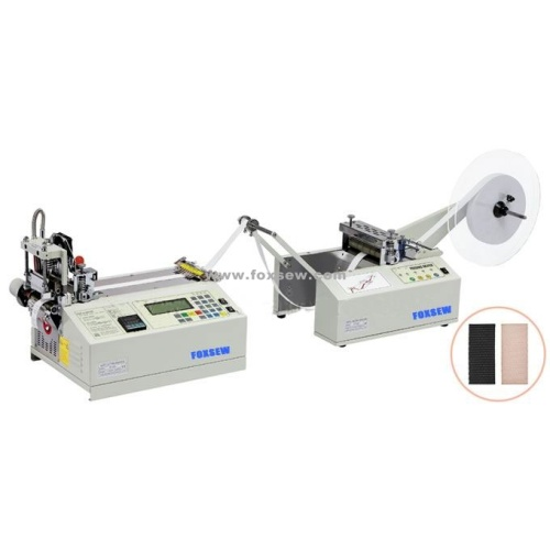 Auto-Hot Tape Cutter with Auto-Feeding Machine