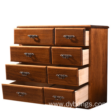 This wooden storage cabinet is very popular in China. It supports solid wood storage cabinets.