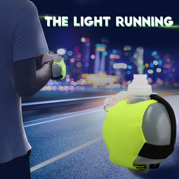 Mini night running wrist water bottles