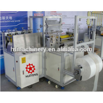 Disposable PE shoe cover making machine for hospital