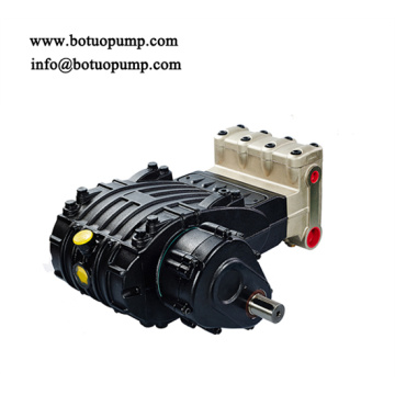 XW triplex plunger pump with Gearbox