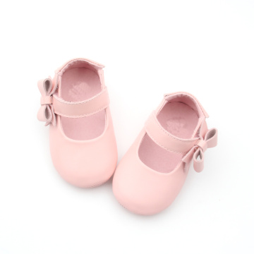 Lovely Pink Bowknot Girls Dress Shoes Designs