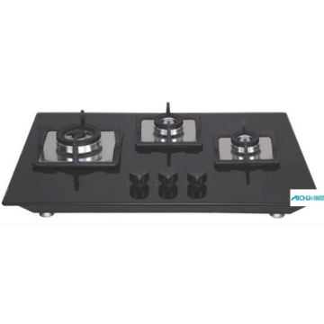 Flexi Black Glass Built-in Hob Stove