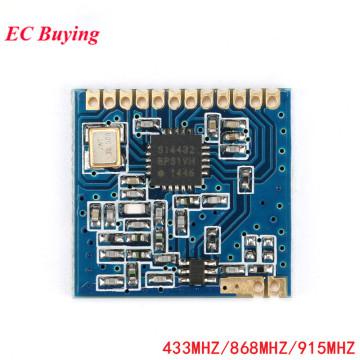 SI4432 Module 433MHz 868MHz 915MHz Wireless Transceiver Communication Module Wireless Communication With Spring Antenna