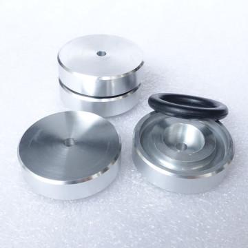 BRZHIFI aluminum feet (with rubber ring) for power amplifier/preamplifier/speaker D:39mm H:12mm