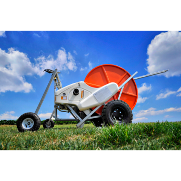 the professional small-sized hose reel irrigator
