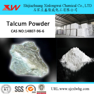 SiO2 60% Whiteness 90% Talcum Powder